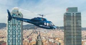 Vuelta en helicóptero y Experiencia Velero por Barcelona