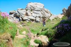 Balade entre les roches de la Pointe de Primel