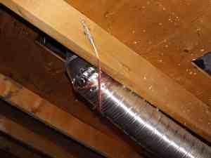 Speaker wire support