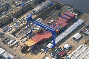 Shipyard infrastructure