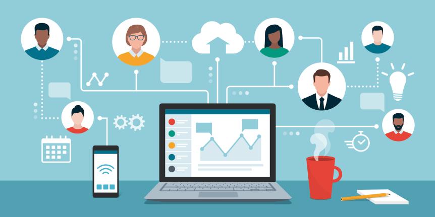 communication virtual team