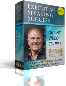 Course Jogn Bates- Executive Speaking Success