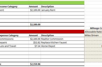 Rental Property Expense