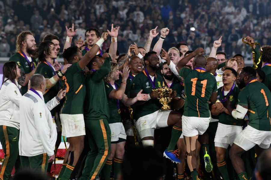 The Springboks' 2019 winning squad