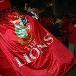 lions fan cape