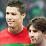 Messi and Ronaldo in 2011