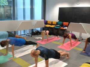 Abs Blast for Staff at Teach First
