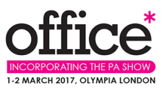 Join us at the office* show, 1-2 March 2017, Olympia London