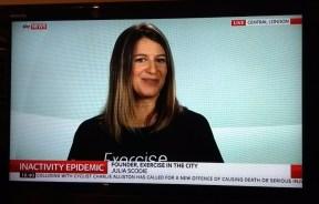 Julia Scodie - Sky News Interview