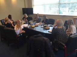 Q & A with Jacquline at our mentor day - Ann Summers HQ