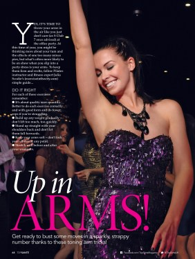 Top Sante - Christmas 2017 Issue - Toning Arms feat. Julia Scodie - 2