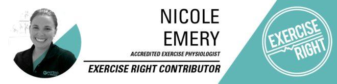 Nicole Emery exercise physiologist