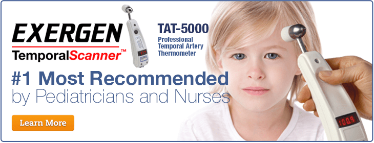 2000 Tat Artery Thermometer Exergen Temporal