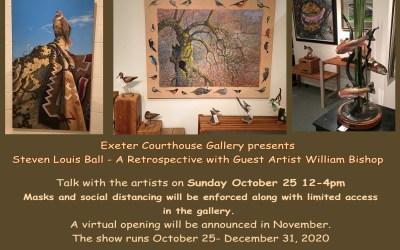 Steven Louis Ball, A Retrospective with Guest Artist William Bishop