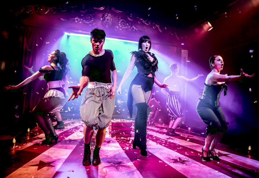 Image result for pippin southwark playhouse