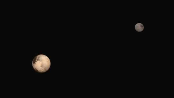 A view of Pluto NASA/JPL/SRI