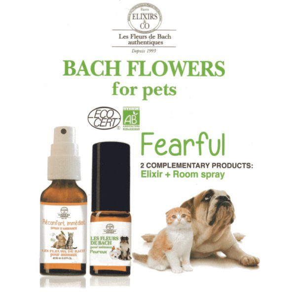 ExFlorum Fearful pet relief