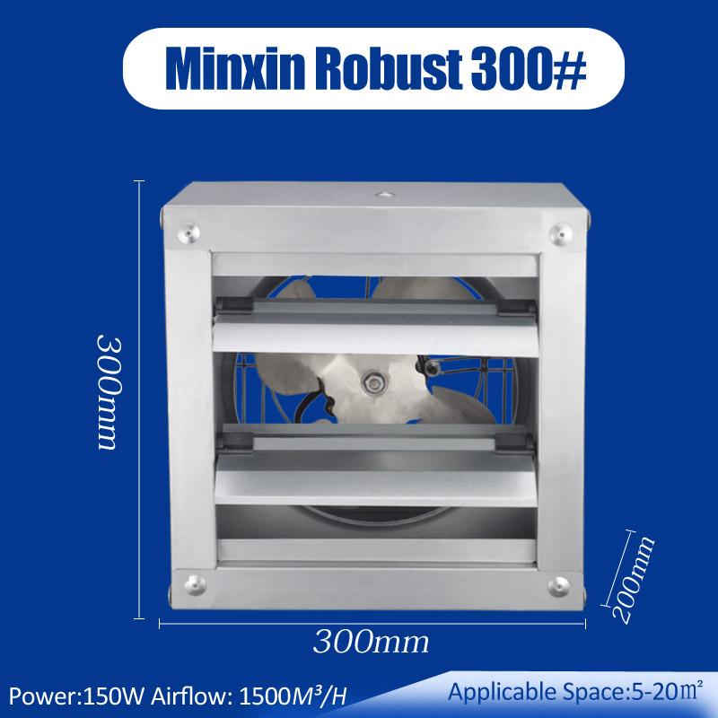 300mm 12 small window exhaust fan for stores garages workshops minxin industrial