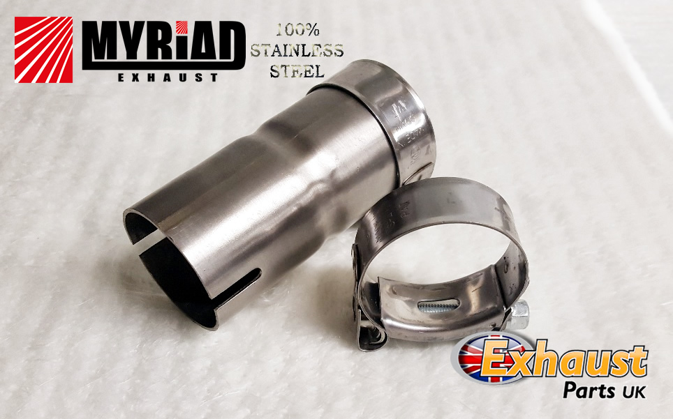 exhaust reducer 4 101mm to 4 101mm