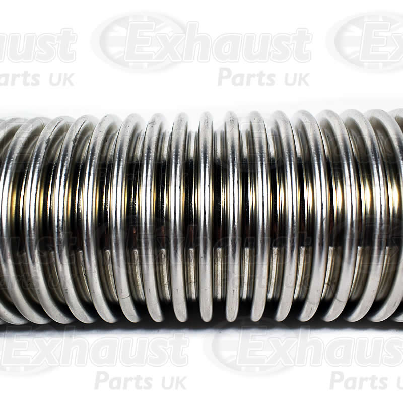 exhaust stainless flexible pipe 1 2 meter 50mm bore 2