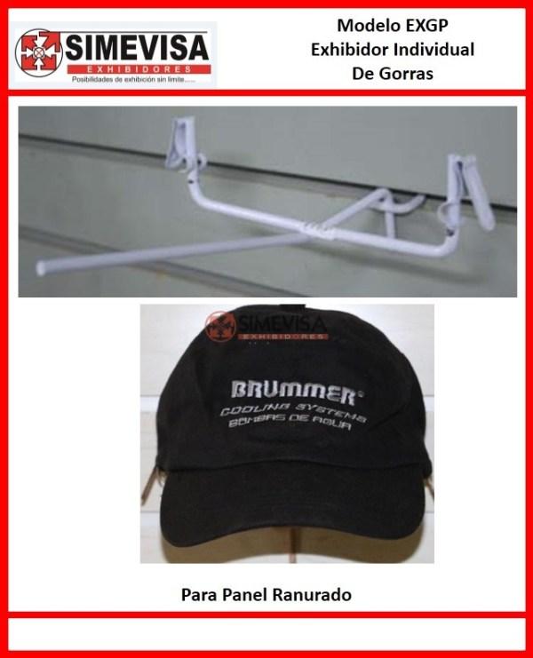 EXGP Exhibidor individual de gorra