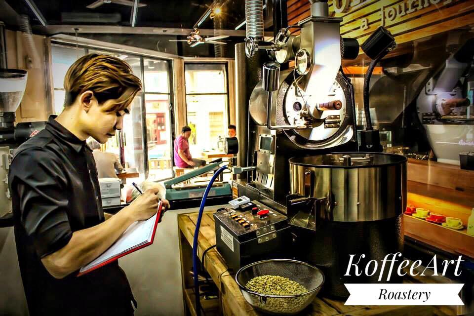 Roaster Story 14 : Koffee Art Roastery