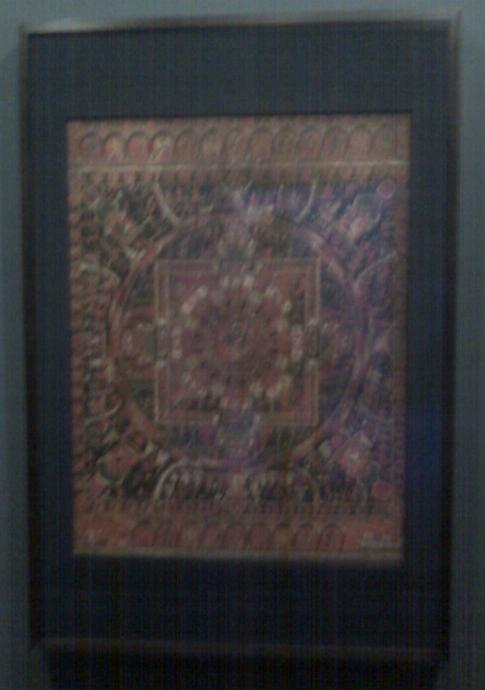 Mandala at the center of the universe / exhibition