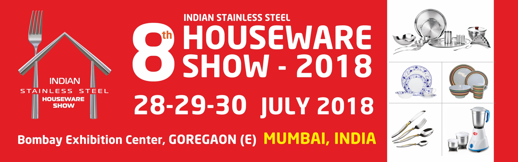 Indian stainless steel Houseware Show