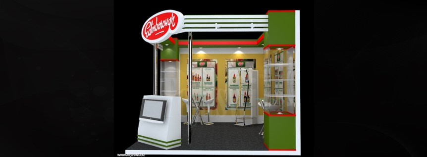 Food Exhibition Stall Designer
