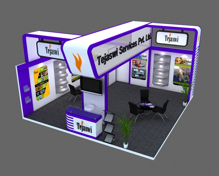 6x6 3d Exhibition Stall Design