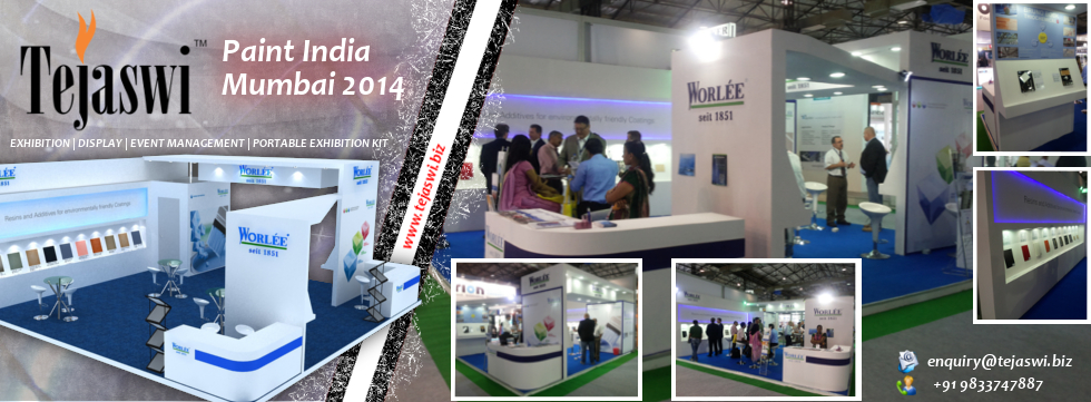 Exhibition Stall Design Mumbai Paint India