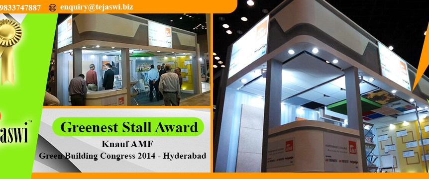 Exhibition Stall Design Bangalore Green Building Congress