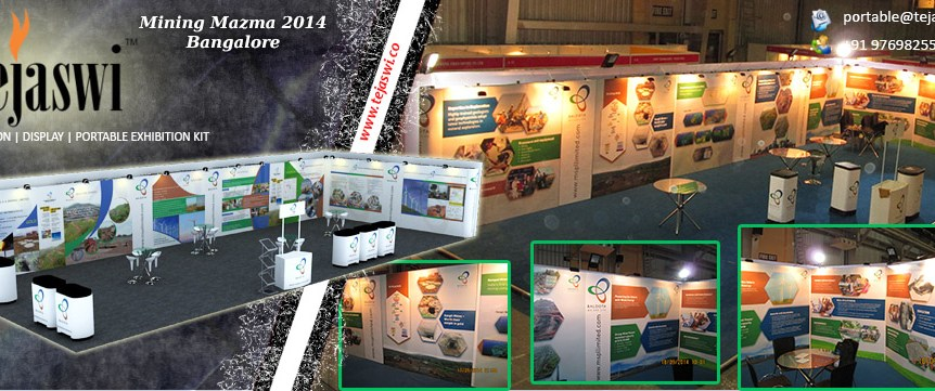 Portable Exhibition Stall Bangalore