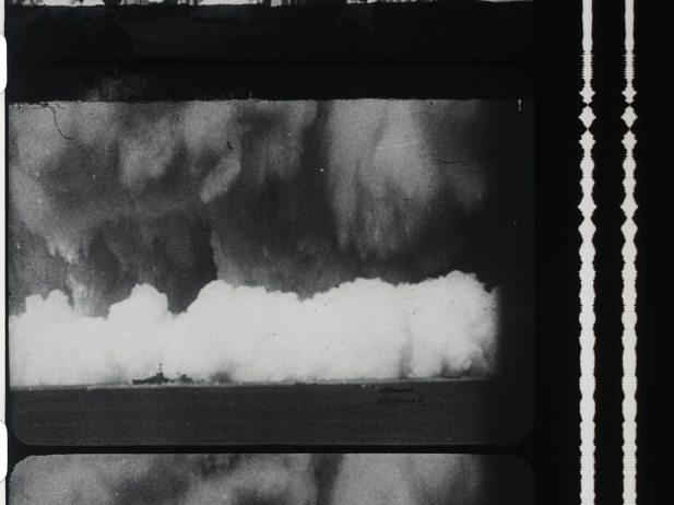 Newsreel (stills), 1958 © 1958, Raphael Montañez Ortiz Smithsonian American Art Museum, Museum purchase through the Luisita L. and Franz H. Denghausen Endowment
