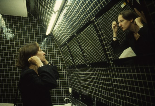 Nan Goldin Suzanne in the Green Bathroom, Pergamon Museum, East Berlin, 1984 Matthew Marks Gallery