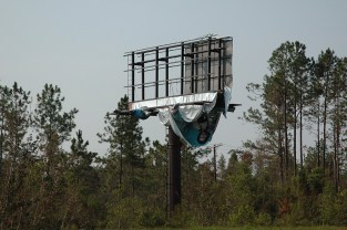 Billboard, Mississippi Gulf Coast, Mid September, 2005 © Copyright of Zoe Strauss