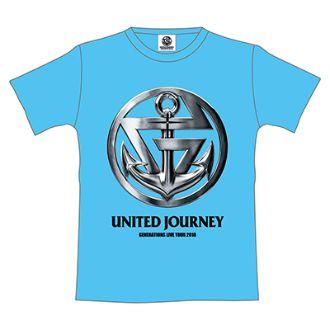 GENERATIONS UNITED JOURNEY ライブグッズ ツアーTシャツ