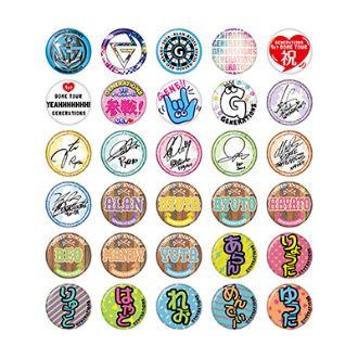 GENERATIONS UNITED JOURNEY ライブグッズ 缶バッジ(全30種)jpg