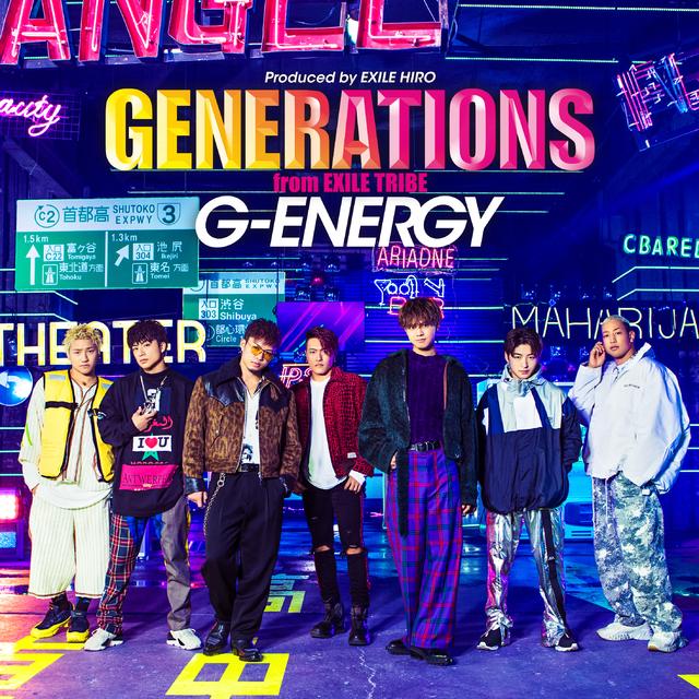 GENERATIONS 新曲 G-ENERGY