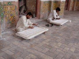 Lahore Fort Maintenance (2010)