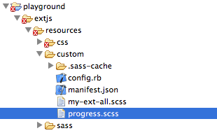 ExtJS 4 Theming: Custom UIs (3/6)