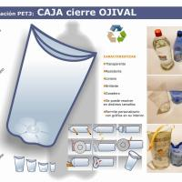 botellas PET como organizadoras