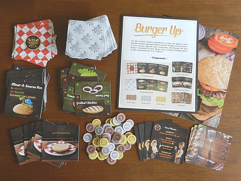 Burger Up components