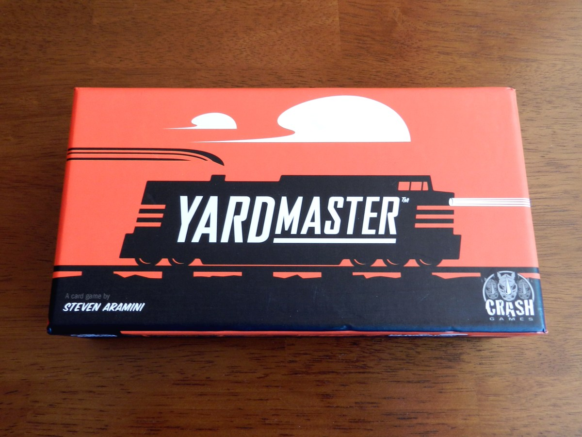 Yardmaster is a first-class train card game