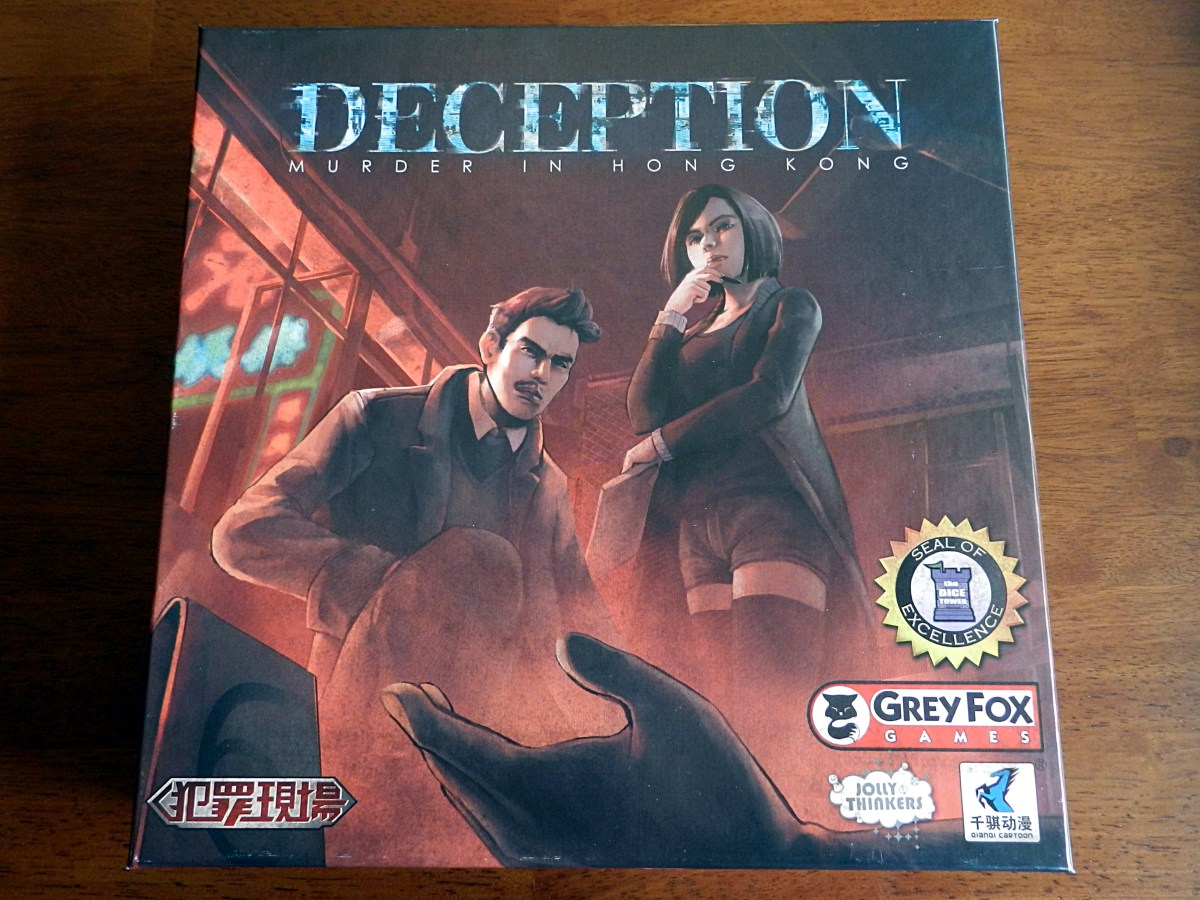 Deception may be the best murder mystery board game ever devised