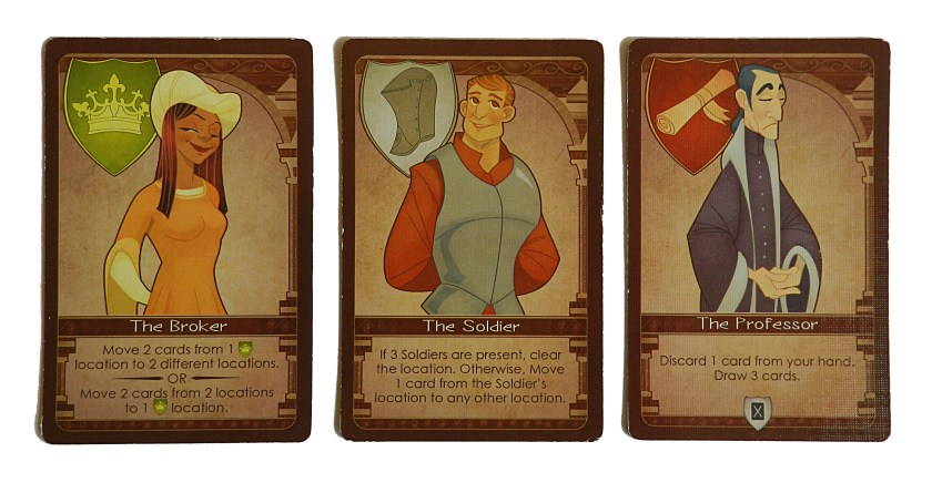 "The character cards are called Virtus cards, which technically means ""character"" in Latin... in the sense of moral character."