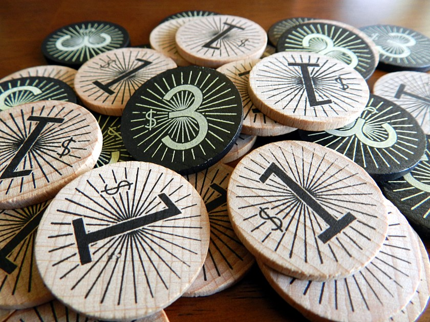 The click clack of stacking wooden tokens never gets old.