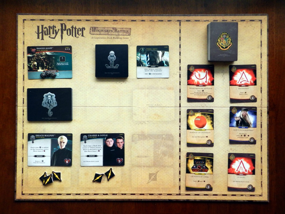 Harry Potter: Hogwarts Battle is the ultimate Harry Potter board game