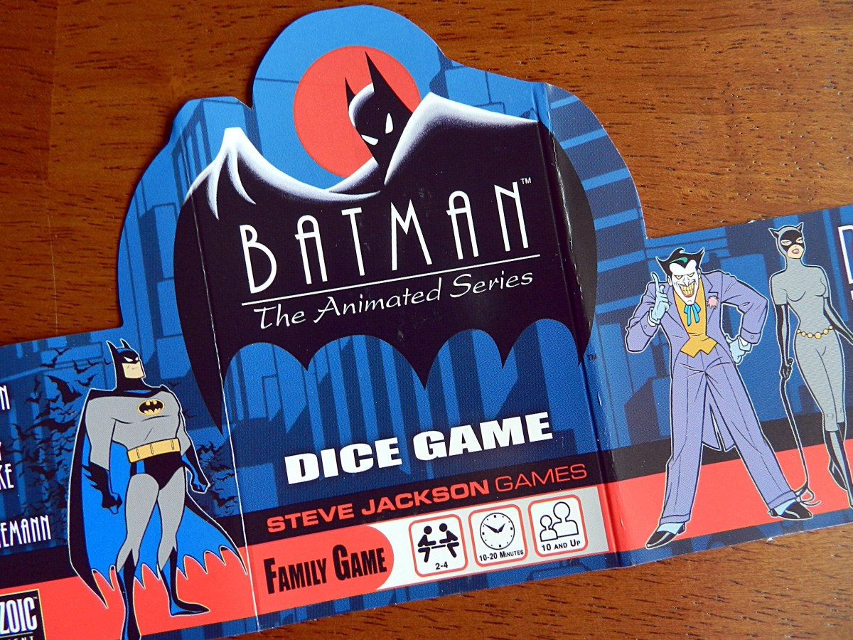 Batman: The Animated Series Dice Game – Games based on Batman: The Animated Series, Part 2