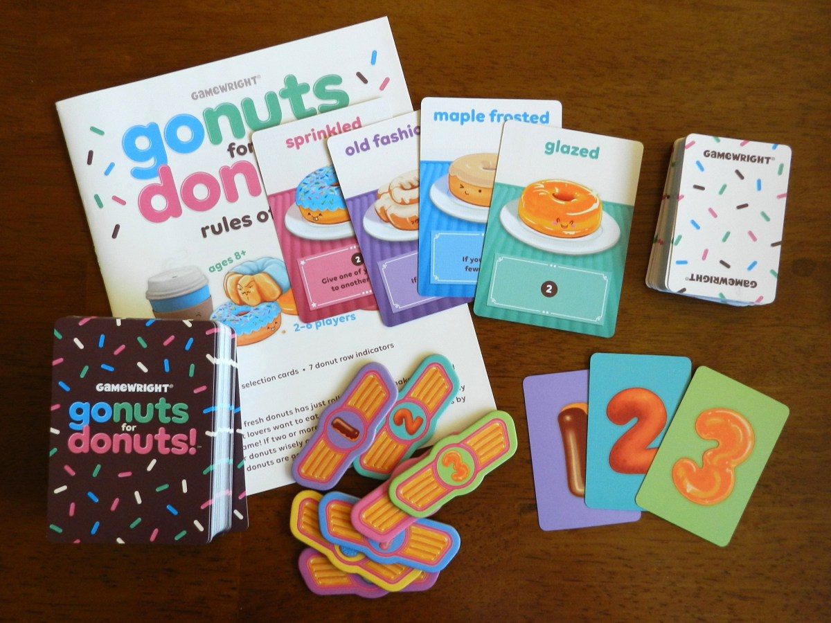 Going nuts about Go Nuts for Donuts